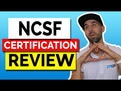 NCSF CPT Certification Review - How does it stack up? - YouTube
