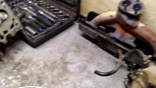 ВАЗ-21093 на ремонте двигателя