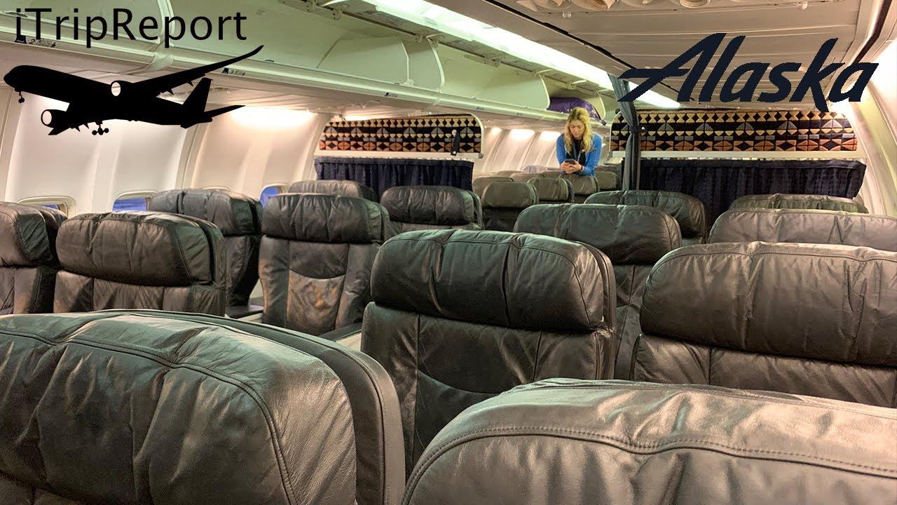 Alaska 737 900 First Class Review Youtube