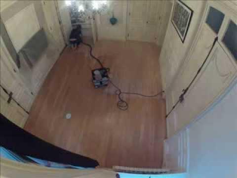 pon age d 39 un parquet en h tre massif youtube. Black Bedroom Furniture Sets. Home Design Ideas