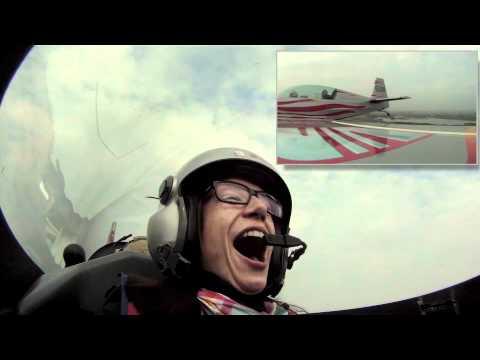Amazing aerobatic flight with Peter Podlunsek