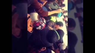 فيديو حصري لحظة قبض اهالي مدينة تالة على احد الارهابيين. 2016