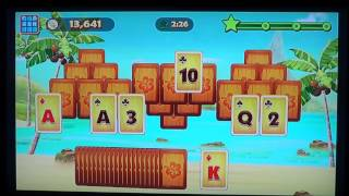 Ipad Iphone Solitaire Tripeaks game review