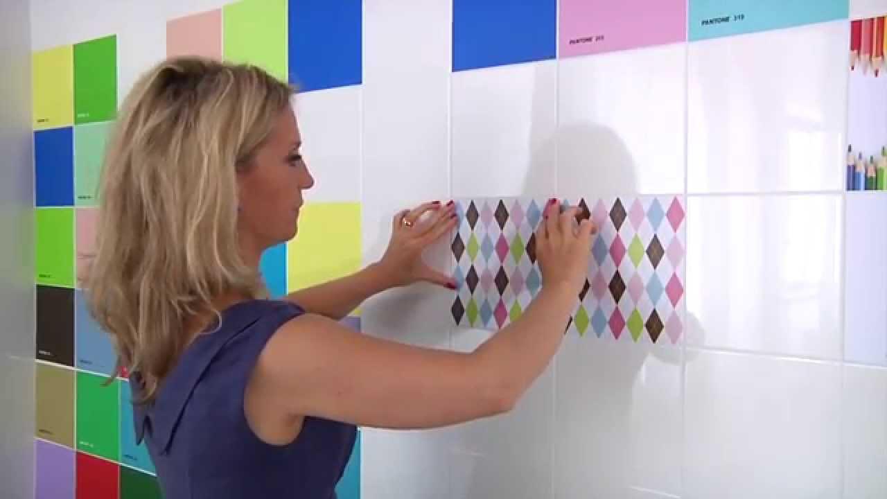 Piastrelle Per Parete Cucina tileskin® tutorials - applicazione su parete