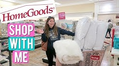 Shop With Me at HOME GOODS!! Home Goods Vlog | Haleina Marie