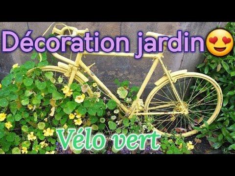 Vélo Décoration Jardin تزيين الحدائق