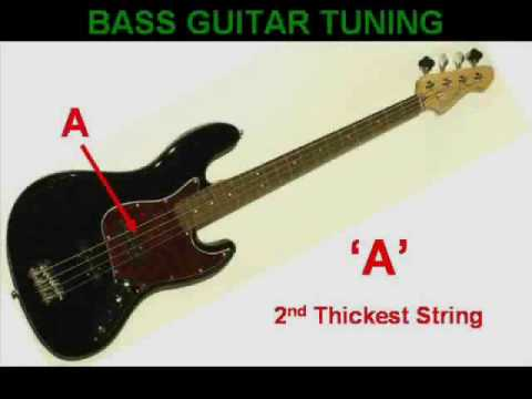 bass guitar tuning youtube. Black Bedroom Furniture Sets. Home Design Ideas