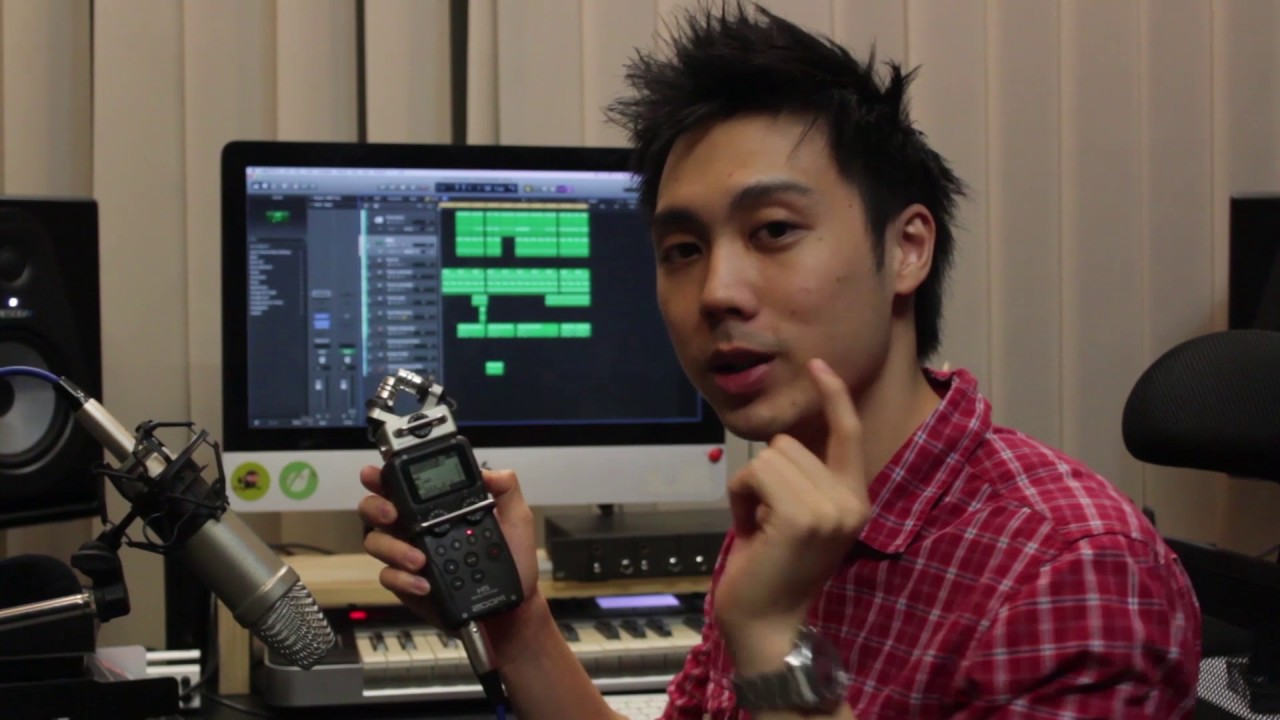 Zoom H5 Review & Music Recording Test - Portable Handy Recorder | Audio  Mentor 😁