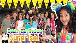 Evangeline 11th Birthday Party - Surprise Giveaway : Vlog It // GEM Sisters Birthdays