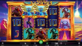 Book Of Immortals Bonus Feature (iSoftBet)