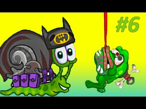 Детская игра про улитку Snail Bob 2 – УЛИТКА БЭТМАН И ПИРАТ, Мультик игра для малышей! Часть #6