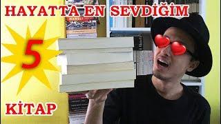 Hayatımda En Sevdiğim Mutlaka Okumanız Gereken 5 Kitap Önerisi // Sizin En Sevdiğiniz 5 Kitap Neler?
