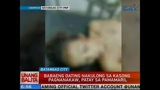 UB Babaeng dating nakulong sa kasong pagnanakaw patay sa pamamaril sa Batangas City