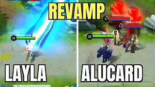REVAMP LAYLA And ALUCARD : COMPLETE HERO SKILL ANALYSIS | Mobile Legends