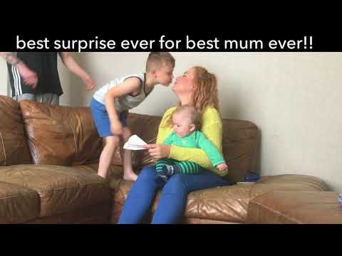 Surprising the best mum ever with ED Sheeran tickets!!!