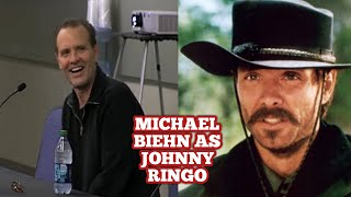 Michael Biehn becoming Johnny Ringo and his favorite moment of his acting career