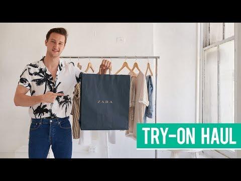 Zara Spring Try-on Haul 2018 | Men's Fashion | Marcel Floruss