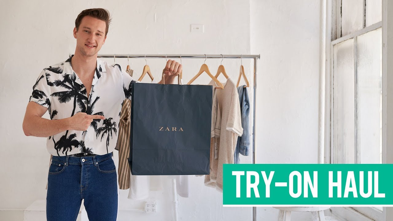 0716f13d Zara Spring Try-on Haul 2018 | Men's Fashion | Marcel Floruss. One Dapper  Street