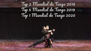 Puesto 2, final escenario, Valentin Arias, Diana Franco, Manizales, Mundial de tango 2018