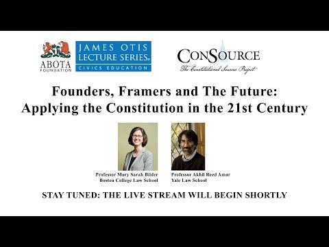 Tenth Annual James Otis Lecture