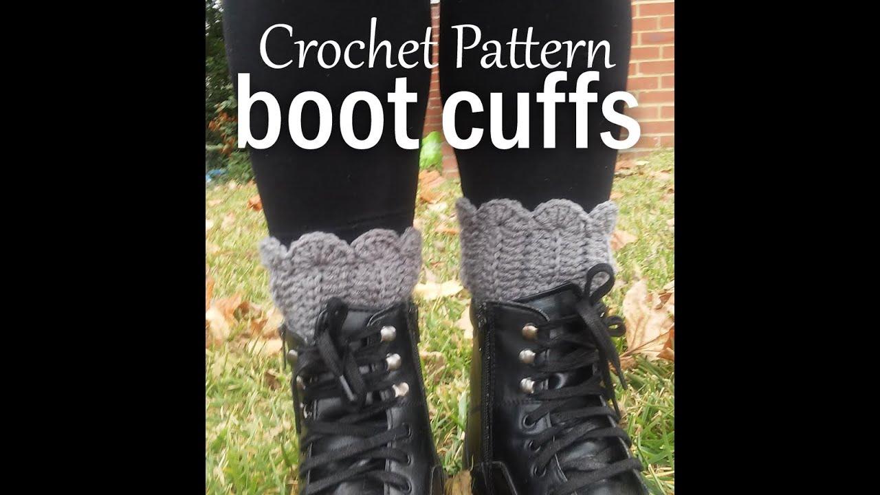 Vol 21 crochet patterns how to crochet boot cuffs youtube vol 21 crochet patterns how to crochet boot cuffs bankloansurffo Images