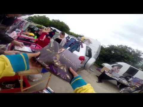 out and about at carboots in plymouth new cam gopro richkingretro