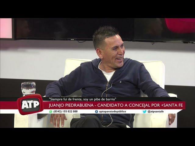 Juanjo Piedrabuena - candidato a concejal por + Santa Fe - ATP 14 09 21