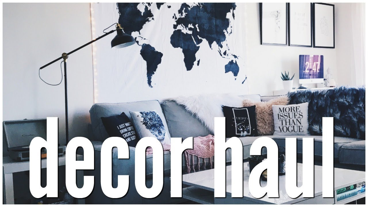 Decorate My Apartment With Me! & Decorate My Apartment With Me! - YouTube