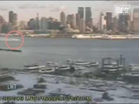 Das Video von der Notlandung des Airbus im Hudson-River - Bild de
