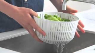 Сушка для зелени Fiskars 1014433 видео(, 2015-12-21T18:14:09.000Z)
