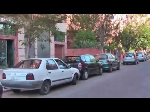 @@!! gueliz,marrakech, la synagogue ancienne face a l'hotel alkabir