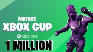 *NEW* XBOX CUP FORTNITE BATTLE ROYAL 1 MILLION DOLLARS PRIZE POOL!//CODE-Worklegend01