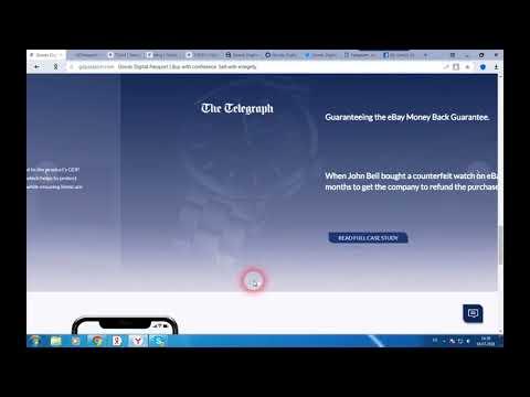 Goods Digital Passport - блокчейн для записи истории продуктов и подтверждения их подлинности