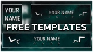 Free Gaming Logo, Banner & Header Template