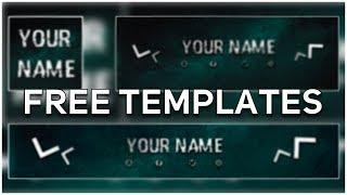 Free Gaming Logo, Banner & Header Template