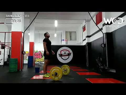 "Daniel Díaz (Arion Pride) 1'29"" / 6'22"" Riders Throwdown 17.1"