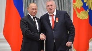 Путин вручил Жириновскому Орден Александра Невского