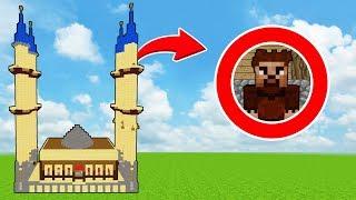 FAKİR CAMİYE GİDİYOR - RAMAZAN BAYRAMI ÖZEL! 😍 - Minecraft