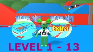 ROBLOX - WipeOut Obby 1 - 13