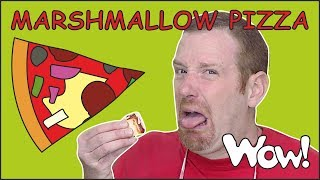 Download Perfect Marshmallow Pizza Story from Steve and Maggie NEW | Food for Kids Stories | Wow English TV Mp3 and Videos
