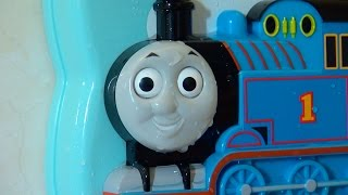 機関車トーマス 10までかぞえよう!  / Fun on your bathroom wall! Thomas the Tank Engine Toy