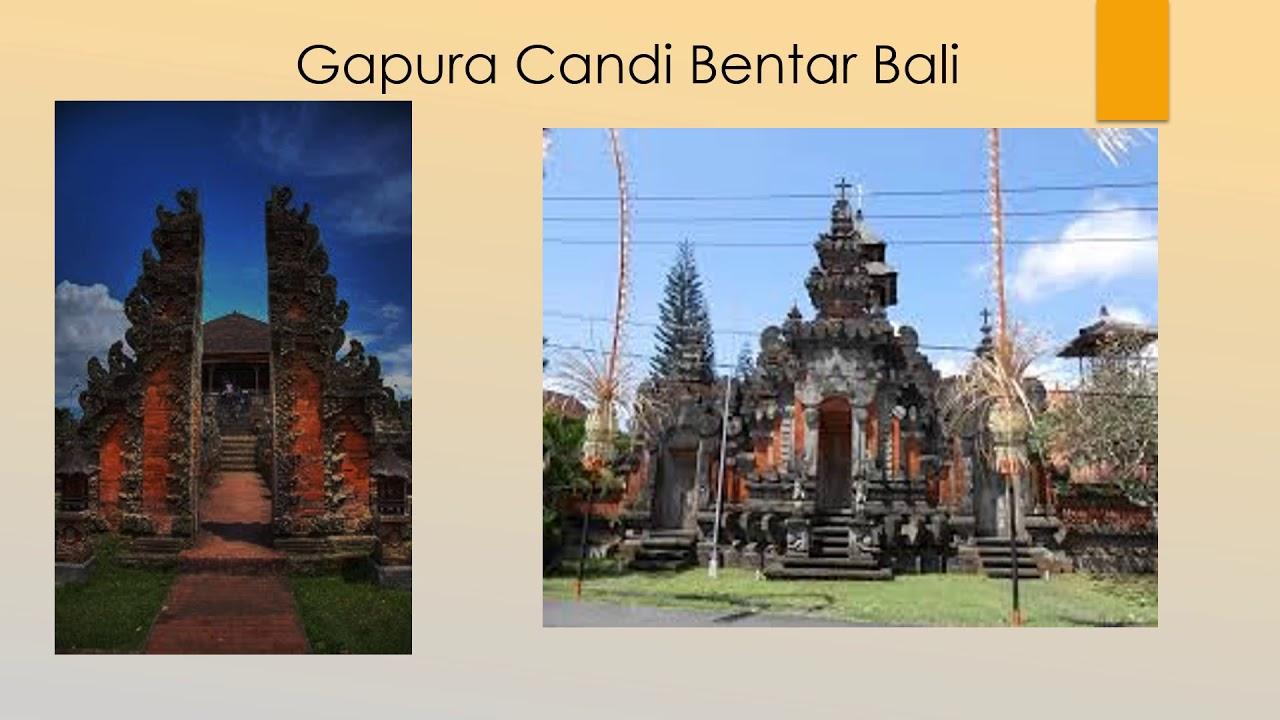 68 Gambar Rumah Adat Gapura Candi Bentar Bali Gratis