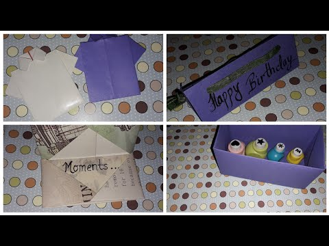 Paper fold ideas | DIY paper craft | paper fold craft