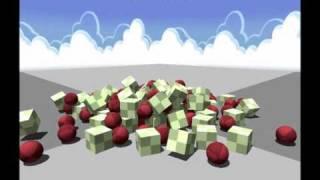 Messiah Physics Stack Drop Demo