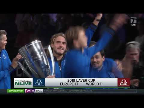 Tennis Channel Live: Roger Federer Leads Team Europe To Win 2019 Laver Cup