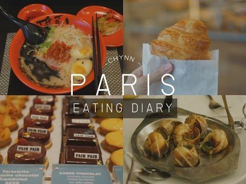 PARIS EATING DIARY