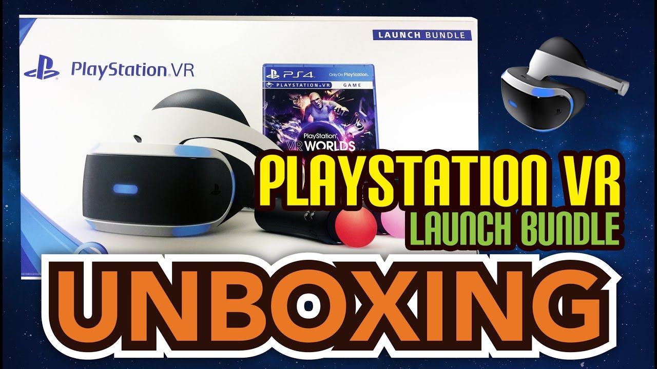PlayStation VR (PS VR) Launch Bundle Unboxing !! - YouTube