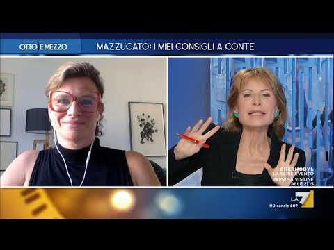 Otto e Mezzo la7 - Mazzucato i miei consigli a Conte