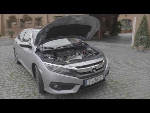 Honda Civic 4 Door Exterior Design Full HD