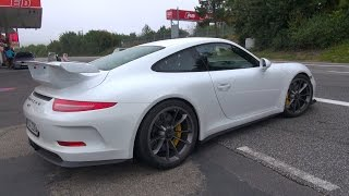 Porsche 991 GT3 - Huge Accelerations!